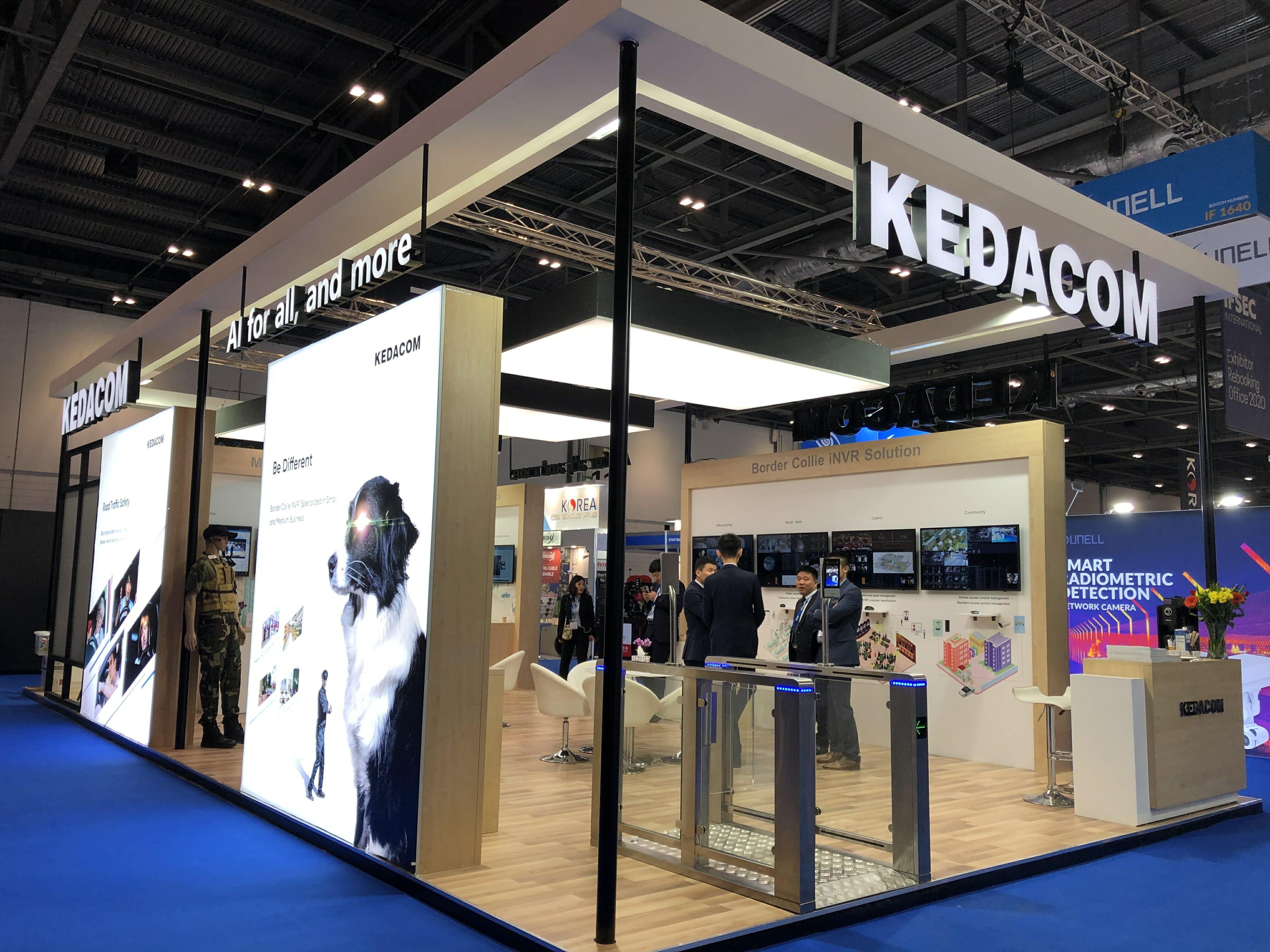 KEDACOM на выставке в Лондоне